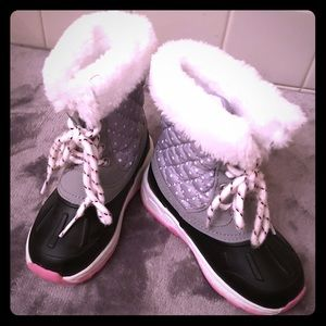 💕Toddler Girls Snow Boots